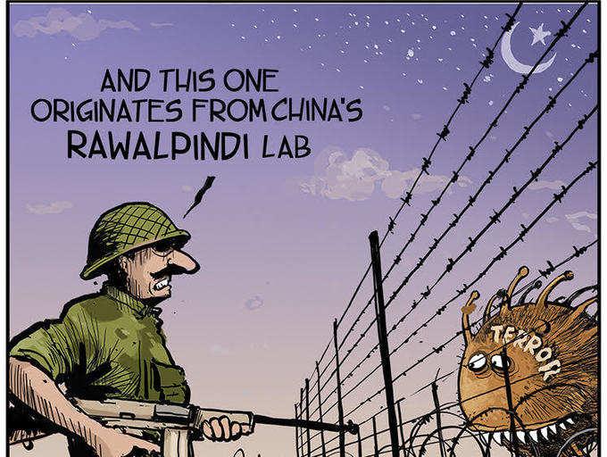 [Il laboratorio cinese di Rawalpindi] E questo qua arriva dal laboratorio cinese di Rawalpindi.